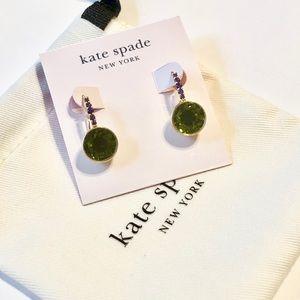 Kate spade peridot earring